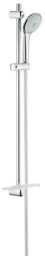 Grohe Euphoria 110 | Brause- und Duschsystem - Brausestangenset | 900mm, 3 Strahlarten, variables oberes Bohrloch zur Befestigung, chrom | 27226001