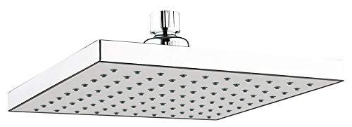 Design Dusche Regenschauer Duschkopf 20x20cm eckig Quadratisch Chrom Sanlingo
