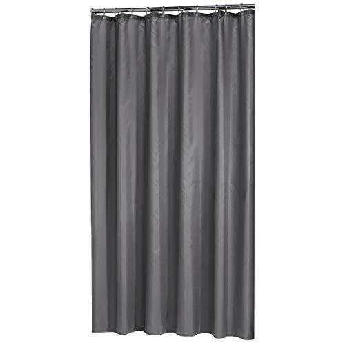 Sealskin Textil Duschvorhang Madeira, Farbe: Grau, B x H: 120 x 200 cm