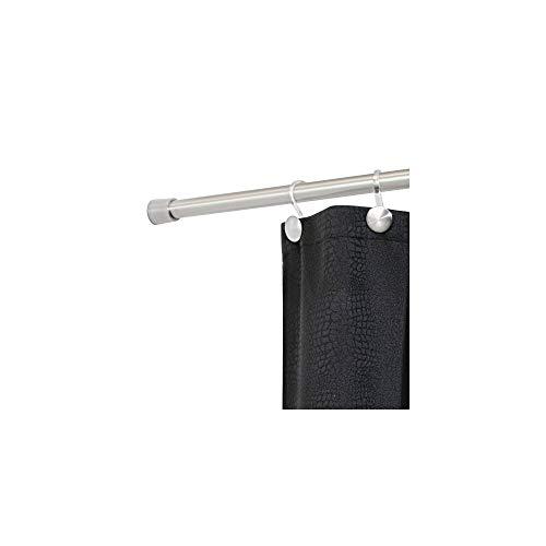 InterDesign 78470EU Forma Duschvorhangstange, Edelstahl gebürstet, 66 cm - 107 cm