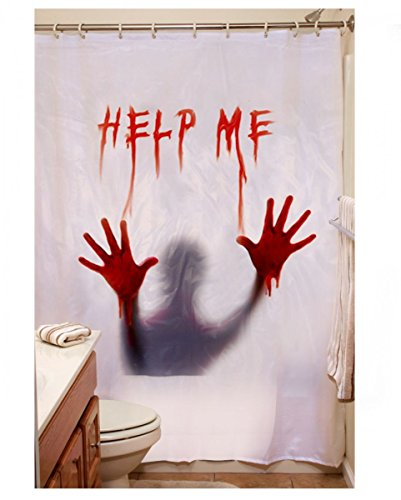 Horror Duschvorhang