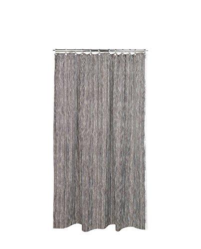 Marimekko® - Varvunraita - Duschvorhang - weiß/schwarz - 180 x 200 cm