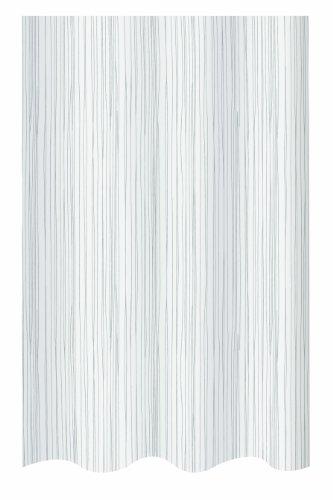 Spirella Anti-Schimmel Duschvorhang Raya Anti-Bakteriell, waschbar, wasserdicht Polyester 180x200cm weiß