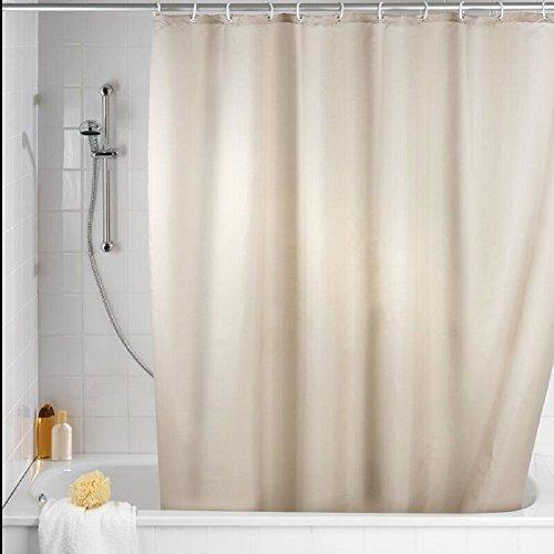 jysport Duschvorhang mildew-free Wasserdicht Vorhänge fester dickerer Vorhang für die Dusche, beige, 180x180cm