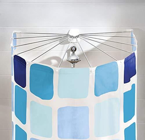 """Kleine Wolke 3325100000 Dusche Aufhängevorrichtung Artikel """"Big Spider"""", 94 x 71 cm"""