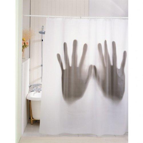 Gruseliger Duschvorhang Hände - Scary Psycho Horror Hands