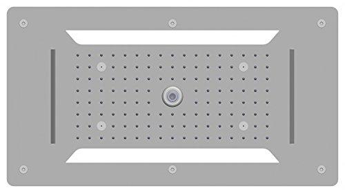 XXL-Regendusche Edelstahl-Deckenbrause DPG5030 superflach - 70 x 38 cm - Deckeneinbau
