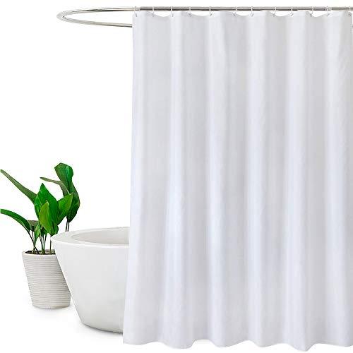 """Duschvorhang,weiß Anti-Schimmel Wasserdicht und Schimmel resistent,48""""W x 72""""L (120 x 180cm),Polyester"""