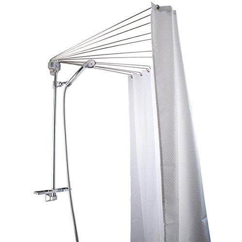 Qualitativ hochwertige Duschvorhangspinne Duschfaltkabine Spider 12 Arme Neu