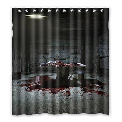 Dalliy Brauch horror haus Wasserdicht Polyester Shower Curtain Duschvorhang 167cm x 183cm