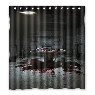 Dalliy Brauch horror haus Wasserdicht Polyester Shower Curtain Duschvorhang 167cm x 183cm