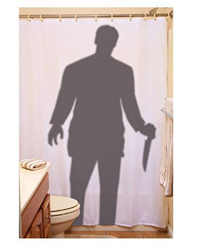 Mörder Duschvorhang