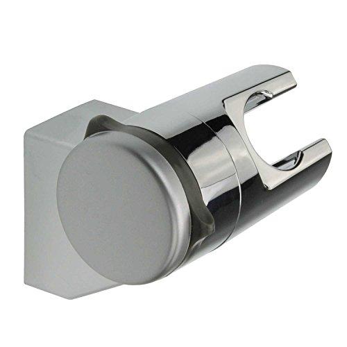 Sanixa TA3360809 Brausehalter ohne Bohren | Neigungswinkel verstellbar | ABS | Stabil & fest | Wand-Halterung Duschkopf | Duschhalterung Handbrause