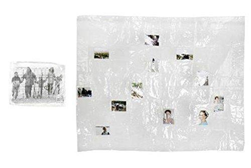 Fotovorhang mit 100 Taschen