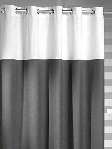 Sealskin Textil Duschvorhang Double, B x H: 180 x 200 cm