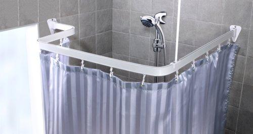 duschvorhang halterung halterungen fuer duschvorhaenge