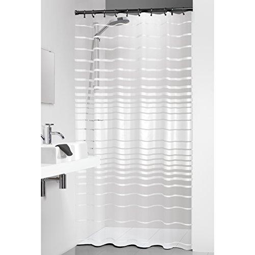 Sealskin Duschvorhang Screen, Peva, Farbe: Weiß, B x H: 180 x 200 cm