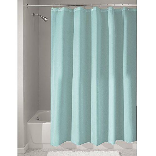 iDesign Duschvorhang, Stoff, mint, 180,0 cm x 200,0 cm