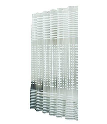 Zrf Upscale Individuality Duschvorhang, wasserdicht, Schimmeleffekt, PEVA-Material, 120 x 200 cm, 260 x 200 cm, Metall, 150 * 200CM