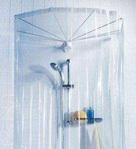 duschvorhang halterung halterungen f r duschvorh nge online kaufen. Black Bedroom Furniture Sets. Home Design Ideas