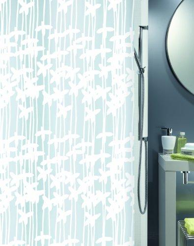 Spirella 10.10627 Duschvorhang Sarong White, Vinyl B x H: 180 cm x 200 cm