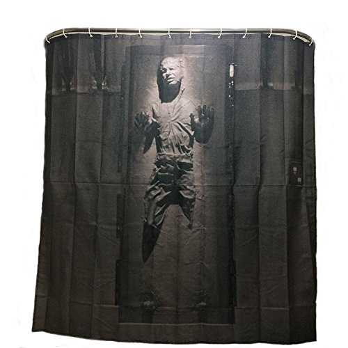 Duschvorhang Zombie Badewannenvorhang mit 12 Duschvorhangringe anti schimmel 180*180cm
