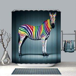 Zebra Duschvorhang anschauen | Zebrastreifen Duschvorhänge
