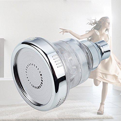 Hochdruck-Multifunktions-Einstellbare Duschkopf-Massage-Edelstahl-Dusche