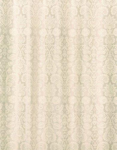 Spirella 10.17019 Textil-Duschvorhang Fortuna Champagne, 180 x 200 cm