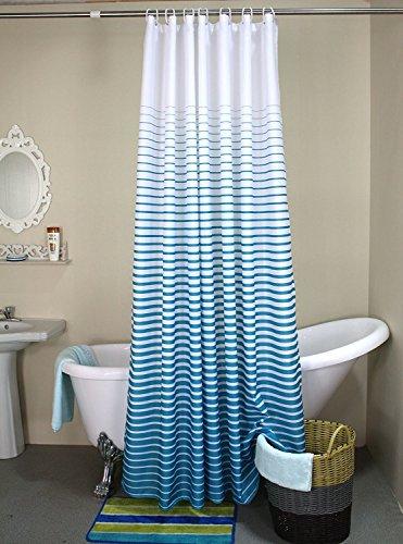 DYHOME Drucken Duschvorhang Verdicken Anti-Schimmel Textilien Polyester Wasserabweisend