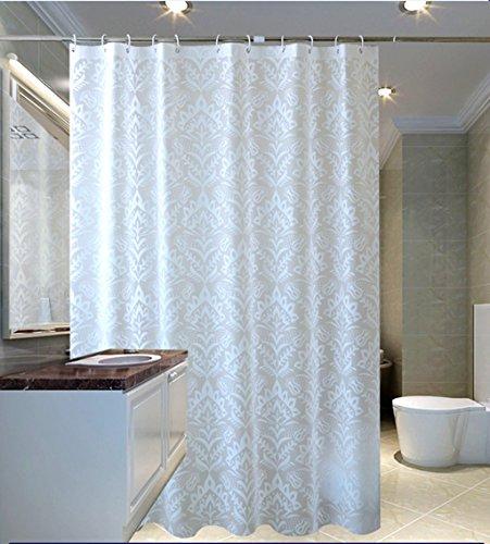 ZSSYULIAN Umweltschutz Duschvorhang, wasserdicht Vermeiden Sie Mehltau PEVA Material Duschvorhänge 180x180cm, 200x240cm verblassen nicht (größe : 200*220cm)