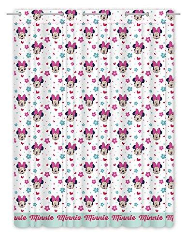 Minnie Love and Spots, Duschvorhang aus flauschigem 140x 270cms.